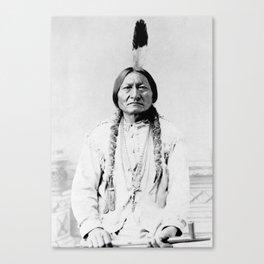 Sioux Chief Sitting Bull Canvas Print