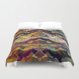The Face of Creation Duvet Cover