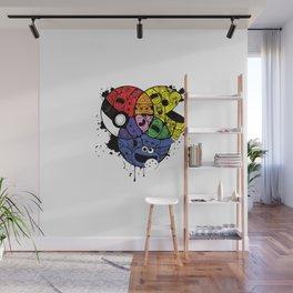 Home Skool Kolor Chart Wall Mural