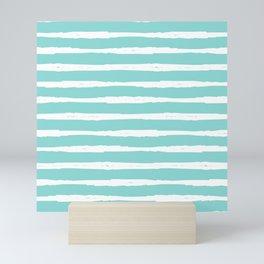 Sea Wave Stripe Mini Art Print