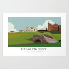 Swilcan Bridge Art Print