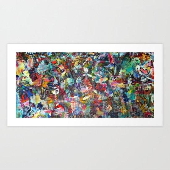 "Stellar Stretch ""Thank You"" Art Print"