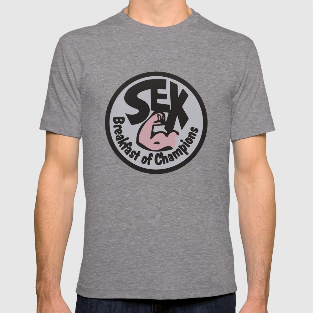 e8a2157c James Hunt Sex Breakfast of Champions Retro F1 T-shirt by racingshirt |  Society6