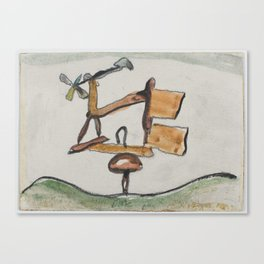 Arthur Dove, ( 1880–1946), Weather Vane Canvas Print