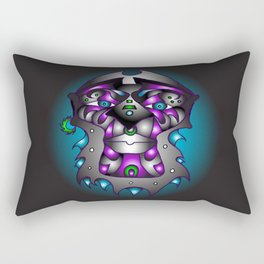Ashanti-Purple Rectangular Pillow