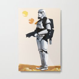 Join the Stormtrooper Corps Metal Print