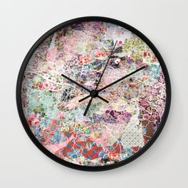 Glasgow map Wall Clock