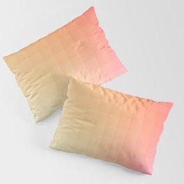 Lumen, Pink and Orange Light Pillow Sham