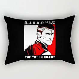 djokovic Rectangular Pillow