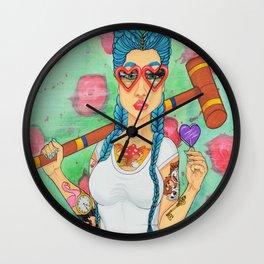 Wonderland, Hair Series Wall Clock