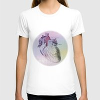 artsy T-shirts featuring artsy heartsy by Eric Um