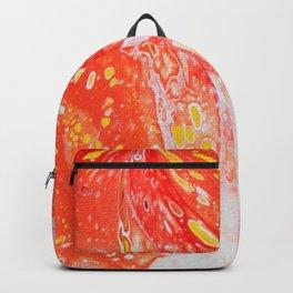 Orange Candy Coating Backpack