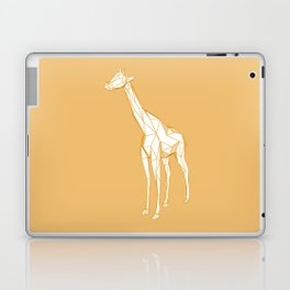 geometric giraffe Laptop & iPad Skin