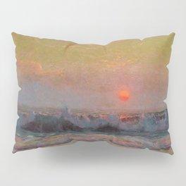 Last Sunset of Summer coastal landscape painting by Sydney Laurence Pillow Sham