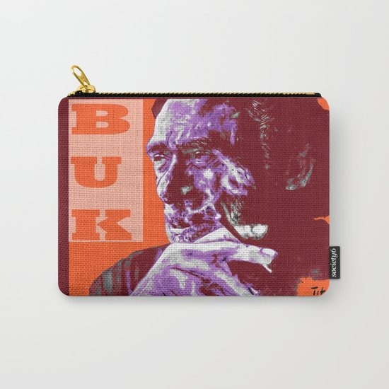 Charles Bukowski - PopART Carry-All Pouch