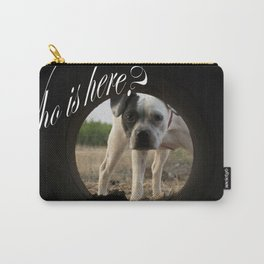 My dog Kira  Carry-All Pouch