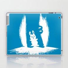 cornered! (bunny and crocodile) Laptop & iPad Skin