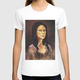 elementary: portrait of joan watson T-shirt