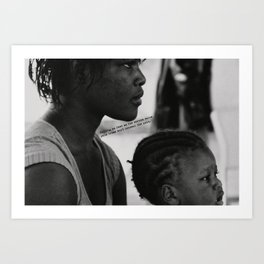 Lyrical Haiti 03 Art Print