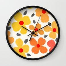 dogwood 6 Wall Clock