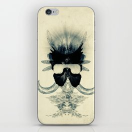A black angel from Aksoum iPhone Skin