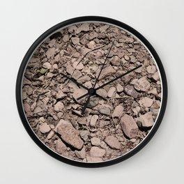 Muted Textures: San Pedro No. 2 Wall Clock