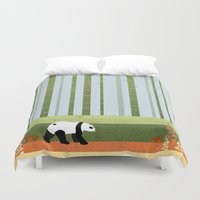 bamboo Duvet Covers featuring Bamboo by Kakel