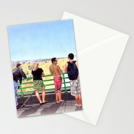 Monday on the Pier Stationery Cards