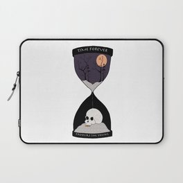 Time Forever Favours The Young Laptop Sleeve