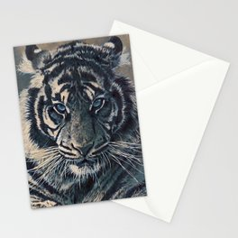 Tiger Eyes - by Julio Lucas  Stationery Cards