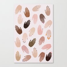 GRRRL Canvas Print