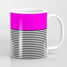 STRIPE COLORBLOCK {PINK} Mug