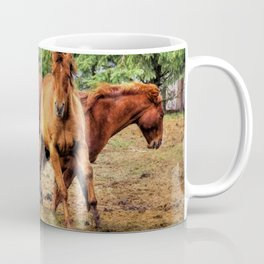 Horse Play Coffee Mug