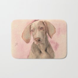 Pointer dog Bath Mat