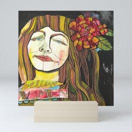 BELIEVE WOMEN Mini Art Print
