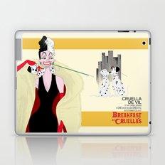 Breakfast at Cruella's Laptop & iPad Skin