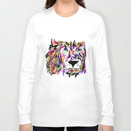 Leo Lion Lines Long Sleeve T-shirt