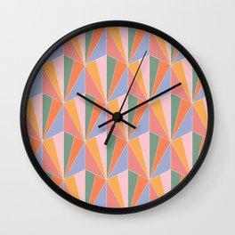 Gisela Color Block Pattern I Wall Clock