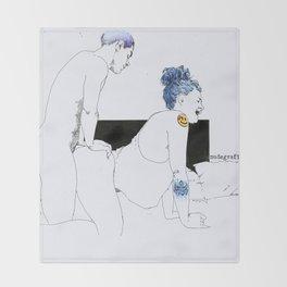 NUDEGRAFIA - 26 Throw Blanket