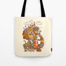 Circusbot Tote Bag