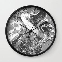 Marble bath Wall Clock