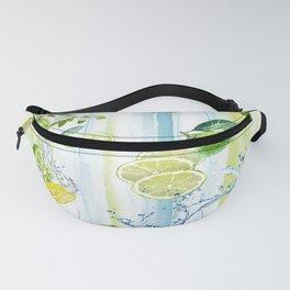 Tropical Lime Splash Fanny Pack