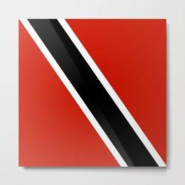 Trinidad and Tobago country flag Metal Print