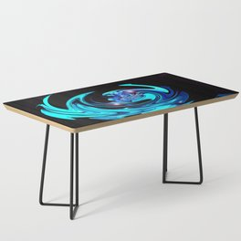 """Cut Blue Diamond""  Coffee Table"