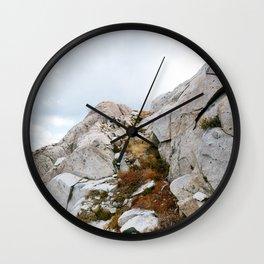 Desolation Mountainside Wall Clock