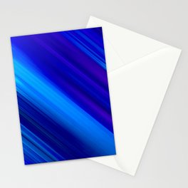 Abstract watercolor colorful lines painting Stationery Cards