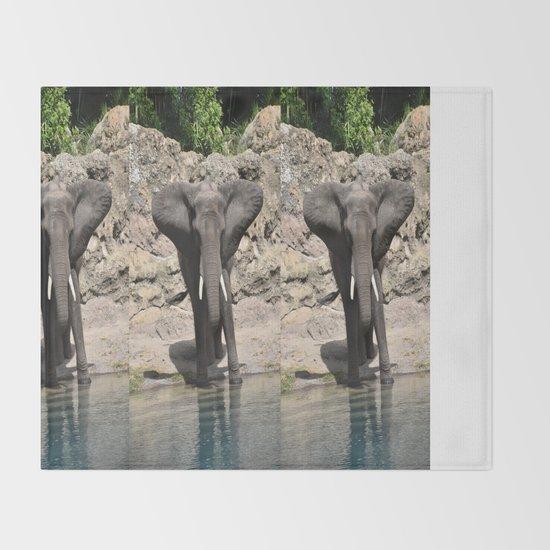 Elephant Ears Throw Blanket By Beachstudio Society6