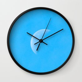 Day Moon Wall Clock