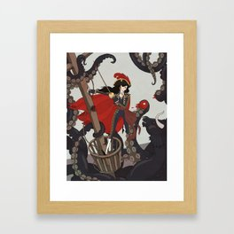 Nautical Matador Framed Art Print