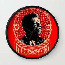 Walter Bishop - Fringe Science (RED) Wall Clock